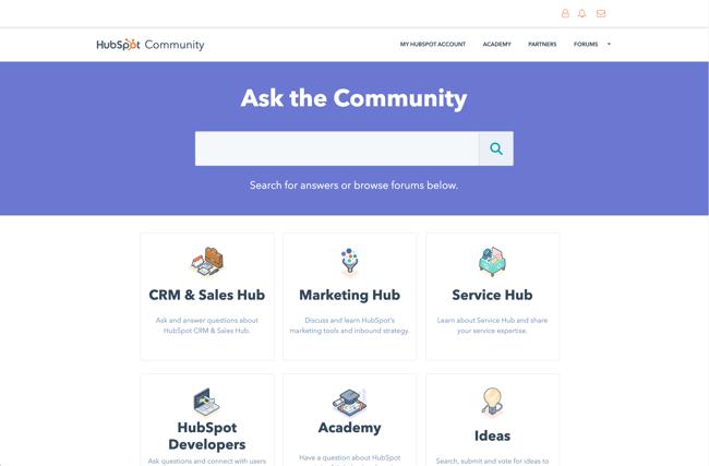 Hubspot community