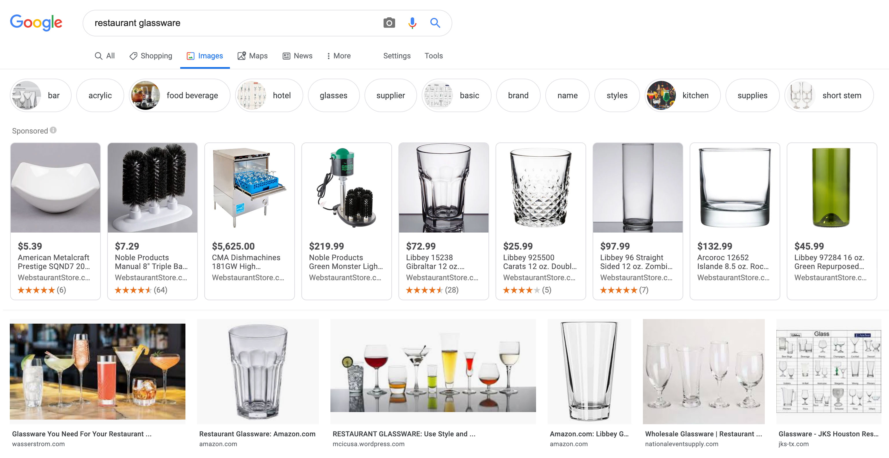 Screenshot-of-Google-Image-Search-for-Restaurant-Glassware