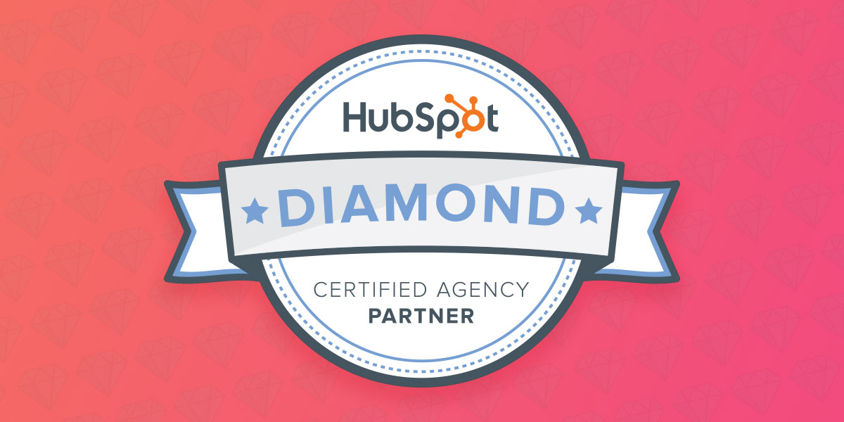 hubspot diamond badge
