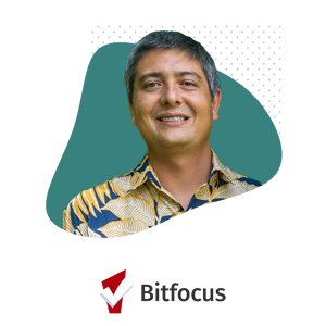 Jeff Ugai and Bitfocus Logo