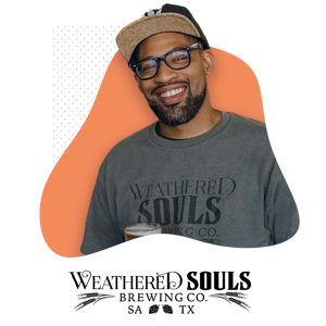 Marcus Baskerville and Weathered Souls Logo