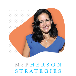 Susan McPherson and McPherson Strategies Logo