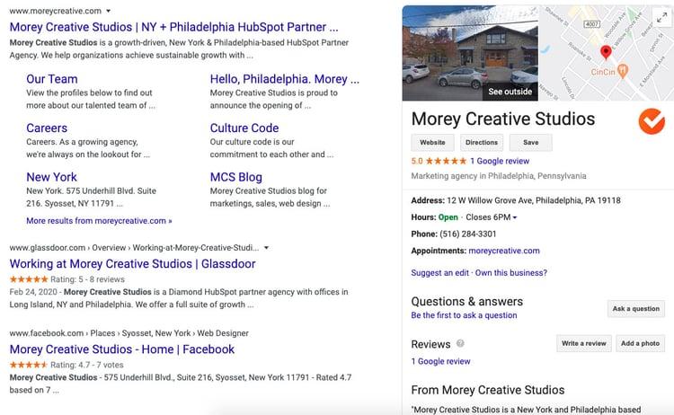 morey creative google my business