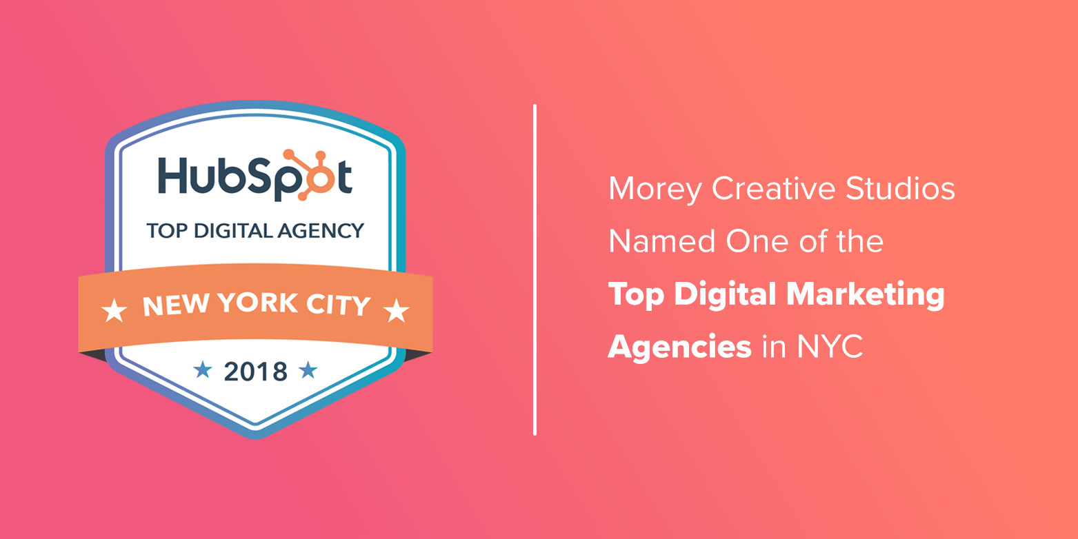Morey Creative Named One of the Top Digital Marketing Agencies in NYC